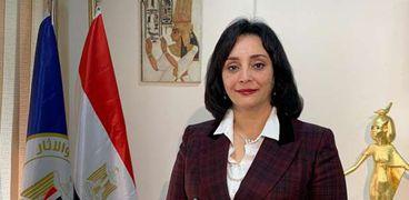 غادة شلبى نائب وزير السياحة لشئون السياحة