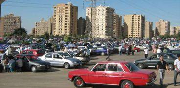 سوق السيارات المتعملة - ارشيفية