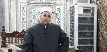 الشيخ محمد السيد عبدالفتاح إمام مسجد «سيدي العارف بالله» بسوهاج