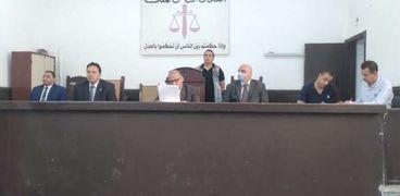 الدائرة الثالثة بمحكمة الجنايات بمحافظة الفيوم