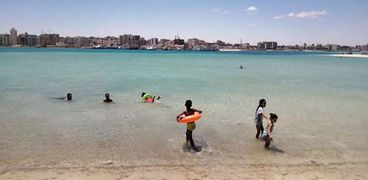 شاطىء الليدو بمدينة مرسي مطروح