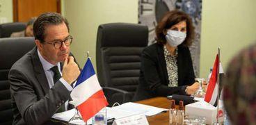 السفير الفرنسي ستيفان روماتيه في زيارة للأكاديمية الوطنية للتدريب