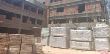 مستشفى القناطر بالقليوبية أحد المشروعات المتعثرة