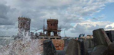 مشروع الحماية البحرية بقلعة قايتباي