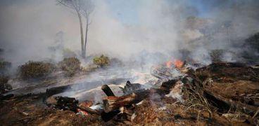 كوارث عالمية: حريق في «كيب تاون».. وانفجار غاز في العاصمة السورية