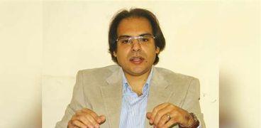 الدكتور محمد الجندي الخبير الرقمي بمكتب النائب العام