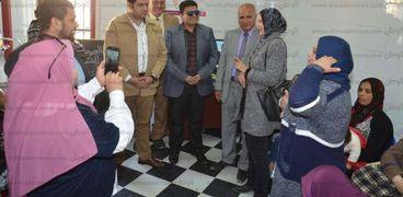 انطلاق المبادرة الرئاسية لدعم صحة المرأة ببني سويف