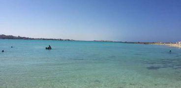 مرسى مطروح على البحر