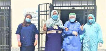 تعافي مصابين بكورونا في الدقهلية