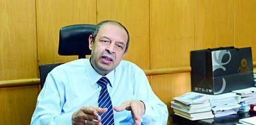الدكتور علاء عيد رئيس قطاع الطب الوقائي بوزارة الصحة