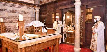 البابا خلال القداس
