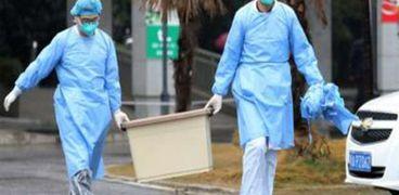 جانب من انتشار فيروس كورونا في الصين