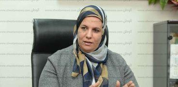 الدكتورة رشا زيادة، رئيس الإدارة المركزية للشئون الصيدلية بوزارة الصحة