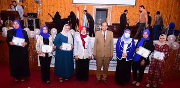 كلية التربية النوعية بسوهاج تحتفل باستقبال الدفعة الثانية من طلابها