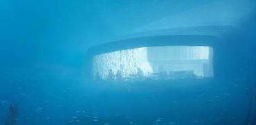 بالصور| افتتاح أكبر مطعم في العالم تحت البحر عام 2019