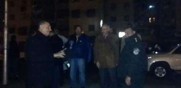 قوات الشرطة تنتشر بشوارع بورسعيد