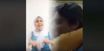 """""""الصم هيسمعوا بإيدينا"""".. """"إسراء"""" تترجم إعلانات رمضان بلغة الإشارة"""