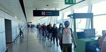 مطار القاهرة الدولي يستقبل اليوم سفر ووصول 166 رحلة تقل على متنها 19 ألف مسافر