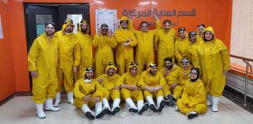 أطباء مصر الذين وقفوا فى مواجهة فيروس كورونا