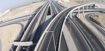 صورة من شبكة الطرق في مصر