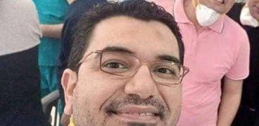 الدكتور أحمد ماضي الذي توفى متأثرا بكورونا