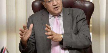 الدكتور حافظ أبوسعدة، رئيس المنظمة المصرية لحقوق الإنسان، عضو المجلس القومى لحقوق الإنسان