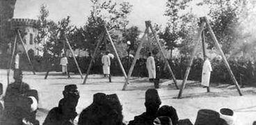صورة من المجازر بحق الأرمن