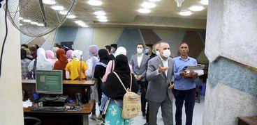محافظ كفر الشيخ يغلق سناتر الدروس الخصوصية
