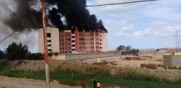 حريق داخل مدرسة خاصة في الإسكندرية والحماية المدنية تسيطر