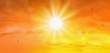 اشعة الشمس الحارقة
