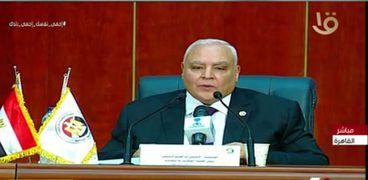 المستشار لاشين إبراهيم .. رئيس الهيئة الوطنية للانتخابات