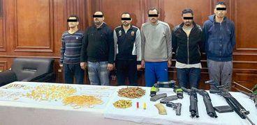 """المتهمون بالسطو المسلح على محل """"ذهب"""" حدائق الأهرام"""