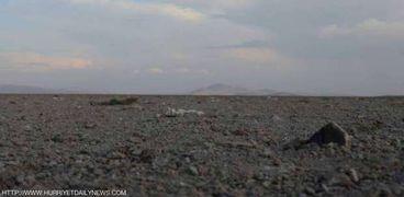 جفاف بحيرة ابير