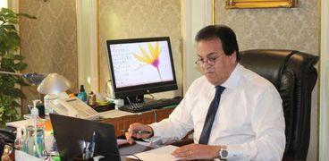 الدكتور خالد عبدالغفار .. وزير التعليم العالي والبحث العلمي