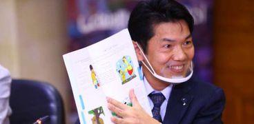 أحد  أفراد الوكالة اليابانية للتعاون الدولى