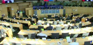 جلسة البرلمان الأوروبي
