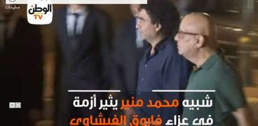 شبيه محمد منير