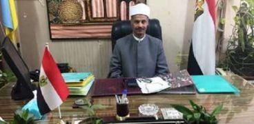 الشيخ أحمد هاشم رئيس الإدارة المركزية لمنطقة الإسكندرية الأزهرية