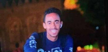 محمد السيد صابر الشاب الغارق من أعلى كوبري قصر النيل