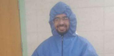 الدكتور احمد عتمان، احد ابطال الجيش الابيض فى بلطيم