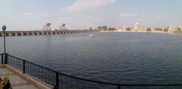 نهر النيل بالقناطر
