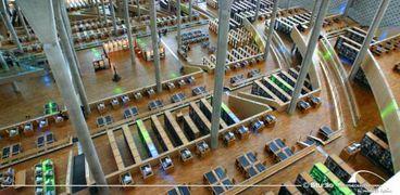 مكتبة الإسكندرية- صورة أرشيفية