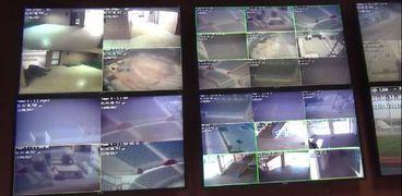 كاميرات المراقبة باستاد السويس