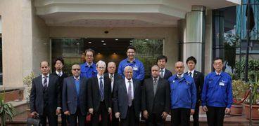في جولته بالمنطقة قويسنا الصناعية السفير الياباني : مصر قادرة على تحقيق انجاز غير مسبوق في شتى المجالات