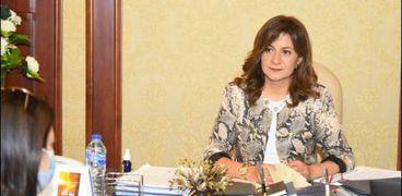 السفيرة نبيلة مكرم وزيرة الدولة للهجرة وشؤون المصريين في الخارج