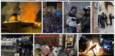 شهداء فلسطين خلال الأحداث الأخيرة