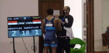 المصارع محمد إيهاب