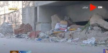 تجمعات القمامة في العمرانية