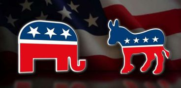 الفيل والحمار رمزي الحزبين الجمهوري والديمقراطي