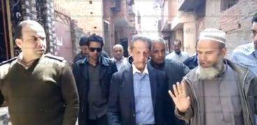 زيارة النائب فؤاد بدراوي للقرية
